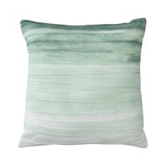 Threshold™ Ombre Pleated Pillow - Aqua Quick Information