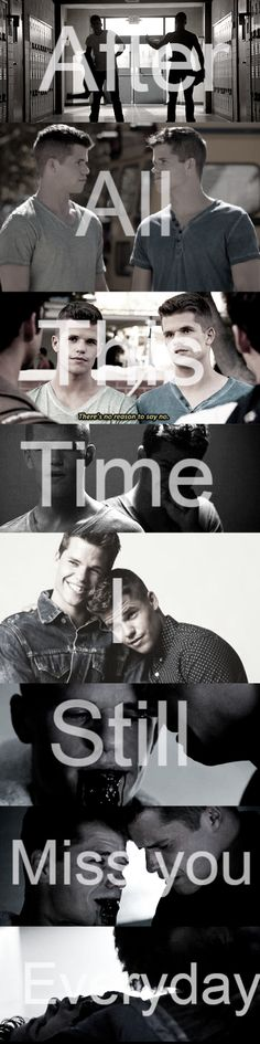 """Teen Wolf Brothers Aidien & Ethan """" After all this time... I still miss you everyday"""""""