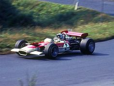 Lotus 49B driven by Jochen Rindt at the 1969 German GP