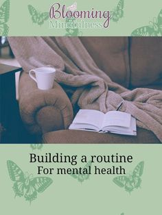 Building a routine for mental health Mental Health Help, Mental Health Resources, Generalized Anxiety Disorder, Healthy Mind And Body, Health Challenge, Take A Shower, Transform Your Life, Chronic Illness