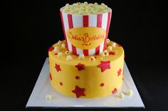 Popcorn cake #3 - depending on numbers I might need to upsize to something like this!!