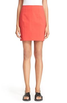 ALEXANDER WANG T By Alexander Wang Tech Suiting Pencil Skirt. #alexanderwang #cloth #