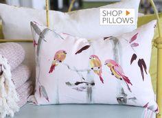 Designer fabric, throw pillows, fabric swatches | Tonic living