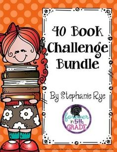 Use this adorable bulletin board and reading journal set to motivate your students to meet the 40 book challenge as talked about in The Book Whisperer by Donalyn Miller. Included in the bundle are 5 b Third Grade Books, 6th Grade Reading, Student Reading, Teaching Reading, Guided Reading, 40 Book Challenge, Reading Challenge, Genre Anchor Charts, Book Whisperer