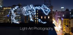 Light-Art Photography von Darren Pearson