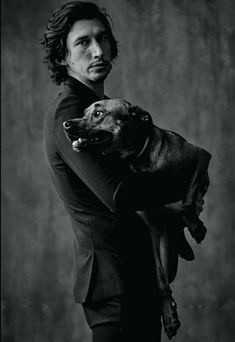 """Adam Driver Daily — """"I got a dog for my birthday, and it was my. Reylo, Starwars, Kylo Rey, Kylo Ren Adam Driver, Actors, Hollywood, Attractive Men, Dog Names, Gorgeous Men"""