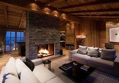 chalet near Kitzbühel - Landau-Kindelbacher Interior Design Companies, Luxury Interior Design, Best Interior, Interior Design Inspiration, French Interior, Built Environment, Design Firms, Cladding, Contemporary Design