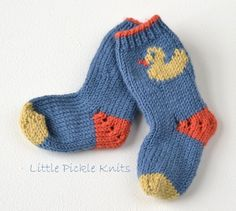 I decided to add this little duckling to my Little Pickle Knits collections.