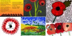 Remembrance day crafts for children Fall Crafts, Crafts For Kids, Arts And Crafts, Remembrance Day Activities, Poppy Craft, Anzac Day, Teachers Pet, Teaching Art, Teaching Resources
