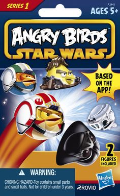 Angry Birds Star Wars 2 Character Pack Series 1!