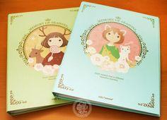 Rangement de bureau kawaii avec les jolies filles Mori Grils et les animaux dans la forêt !!(♡^x^♡)  - Boutique kawaii en ligne www.chezfee.com
