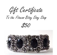 Fitness Bitsy Gift Certificate  USD 50.00 for a Fitbit Flex Cover Up by FitnessBitsy if you don't know the size or style to purchase for someone.