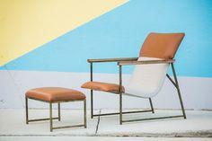 I love this!   HOOGERWERF Mid Century Modern Design Lounge Chair Contemporary Minimalist Danish #HoogerwerfFurnitureCo