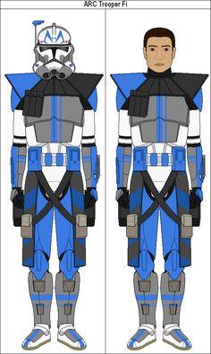 ARC Trooper Fi (CT-1312) by MarcusStarkiller