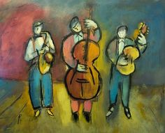 Jazz Trio by Andre Pallat