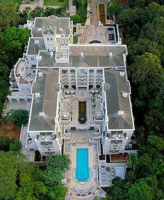 Palácio Tangará by @porondeando_leoavelar #saopaulocity #EuVivoSP #palaciotangara