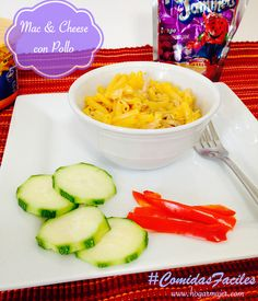 Pensando que cocinar? Que tal estos Mac&Cheese con Pollo super ricos y fáciles de preparar #shop #comidasfaciles #collectivebias