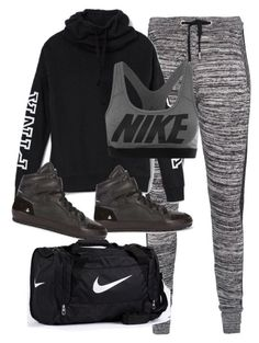 Untitled #7313 by katgorostiza ❤ liked on Polyvore featuring Zoe Karssen, Victoria's Secret, Étoile Isabel Marant and NIKE