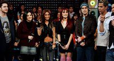 RBD nos estúdios da MTV tr3s (15.12.06) - 002 - RBD Fotos Rebelde | Maite Perroni, Alfonso Herrera, Christian Chávez, Anahí, Christopher Uckermann e Dulce Maria