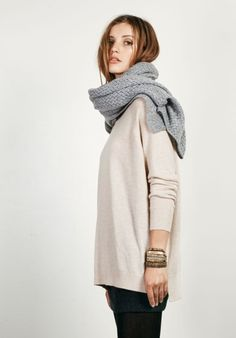 Cosy Cashmere Boyfriend Jumper from hush
