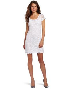 Candela Womens Aurelie Dress, Off White, Medium.  check discount today! click picture on top.