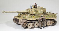 6号戦車E型ティーガー1初期生産型