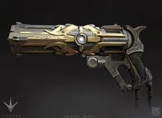 Revenant for Paragon Concept : Zak Foreman Model : Mike Kime Anime Weapons, Sci Fi Weapons, Armor Concept, Weapon Concept Art, Fantasy Weapons, Weapons Guns, Fantasy Armor, Final Fantasy, Arte Sci Fi