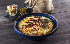 Receita de Bacalhau à abadia. Descubra como cozinhar Bacalhau à abadia de maneira prática e deliciosa com a Teleculinária!
