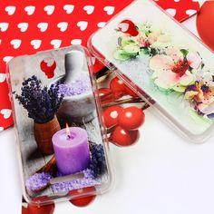 Kwiatowe wzory na etui do telefonu Alcatel One Touch Pixi First. Więcej na www.etuo.pl
