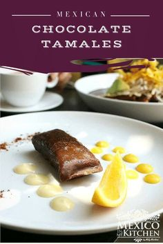 Chocolate Tamales are sweet and delicious and a favorite treat treasured in Mexico. These will be your new favorite tamale.  I can guarantee you that the hardest part of this recipe is waiting for them to be cooked. Authentic Mexican Desserts, Real Mexican Food, Mexican Dessert Recipes, Breakfast Recipes, Tamale Recipe, Tamale Pie, Sweet Tamales, Latin Food, Dessert Drinks