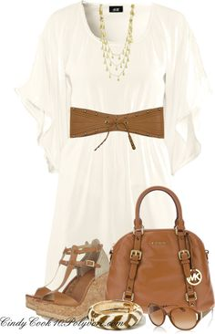 """""""Gimmie the MK Bag!!!"""" by cindycook10 on Polyvore"""