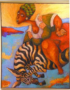 Kenyan Art Paintings