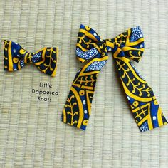 Ankara Bowtie African Printed Bow Tie Boys by LittleDapperedKnots