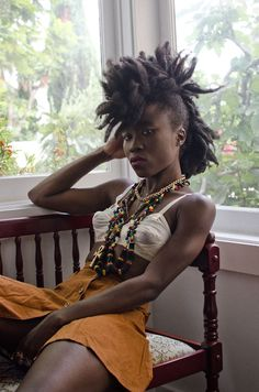 Fierce! #naturalhair #frohawk #mohawk