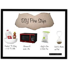 """DIY Beauty Tip: Pore Strips"" by ashleymaerocks on Polyvore"