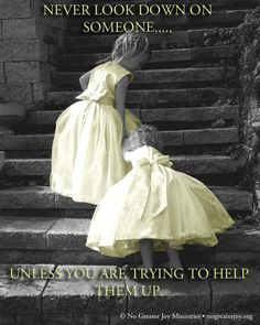 Lend a helping hand...