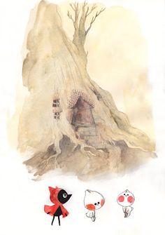 Ssoja: Le petit loup rouge