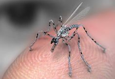 Micro Air Vehicle (MAV),  can be as small as 15 centimeters. Development is driven by commercial, research, government, and military purposes; with insect-sized aircraft reportedly expected in the future. The small craft allows remote observation of hazardous environments inaccessible to ground vehicles. MAVs have been built for hobby purposes, such as aerial robotics contests and aerial photography. #spy #spygadgets # hichtech #howtobecomeaspy #mav