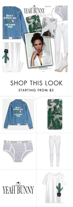 """""""1166"""" by melanie-avni ❤ liked on Polyvore featuring rag & bone, Yeah Bunny and WithChic"""