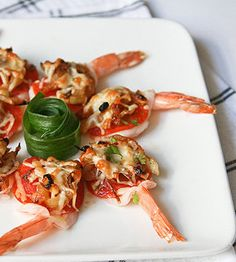 Recipe for Pepperoni Shrimp Bites