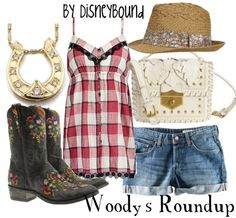 Now....if I had this outfit....I'd wear cowboy boots. But it's the only way!