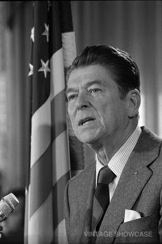 President Ronald W Reagan 8x12 by VintageShowcase on Etsy, $8.00