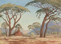 1920 Dutch Expressionism discovered in South Africa – artstolife Art Auction, Landscape Paintings, Landscapes, Natural History, Art Images, Art Museum, South Africa, Art Gallery, Old Things