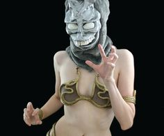 Make Your Own Princess Leia Metal Bikini (this is some advanced stuff people! Xena Costume, Slave Leia Costume, Donnie Darko Rabbit, Princess Leia Bikini, Lingerie Patterns, Star Wars Costumes, Costume Patterns, Star Wars Episodes, Halloween Fun