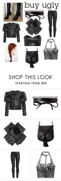 """""""Ugly Shoes"""" by rbugybug ❤ liked on Polyvore featuring Marc Jacobs, Fallon, Black, Chloé, The Row, Iris van Herpen and Toga"""