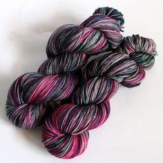 MCN High Twist Sock Yarn  Hand Dyed  Superwash by SpunRightRound, $29.00