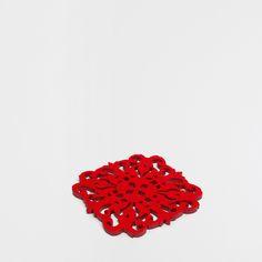 Base para tachos quadrada perfurações geométricas