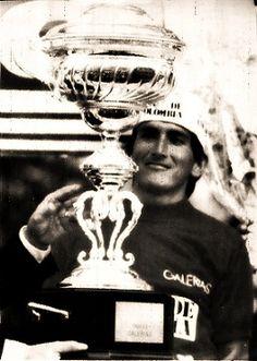 """Luis Alberto """"Lucho"""" Herrera ciclista colombiano, campeón de la vuelta España en 1987"""