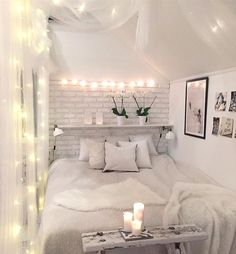 Here are the Modern And Romantic Bedroom Lighting Decor Ideas. This post about Modern And Romantic Bedroom Lighting Decor Ideas was posted under the bedroom category by our team at August 2019 at am. Hope you enjoy it and don't forget to share this post. Dream Bedroom, Home Bedroom, Bedroom Furniture, Brick Bedroom, Bedroom Inspo, Furniture Plans, Kids Furniture, Furniture Stores, Budget Bedroom