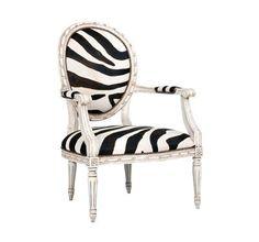 Tui Lifestyle - Glamorous Zebra Accent Chair